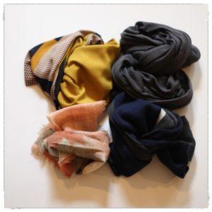 10月のスカーフ