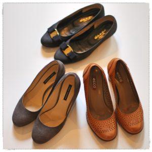 10月の靴