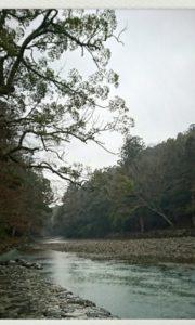 静かで清らかなみすず川