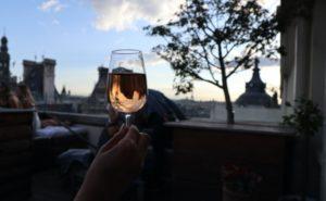 パリのルーフトップバー
