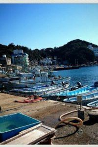 答志島の港