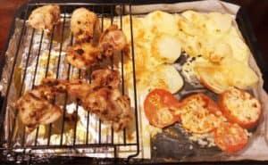 ヘルシオ 網焼き・揚げるでつくったお料理